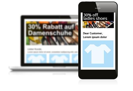 Responsive newsletter design