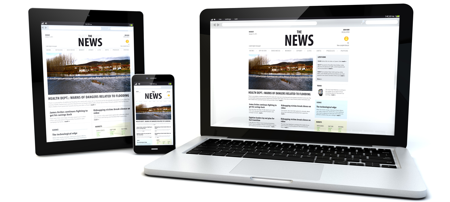 Responsive Design Newsletter Templates