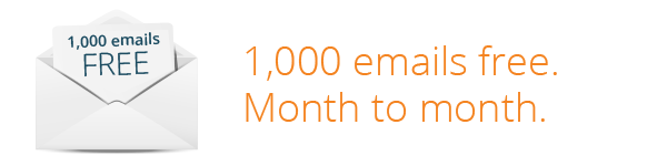 1,000 free emails