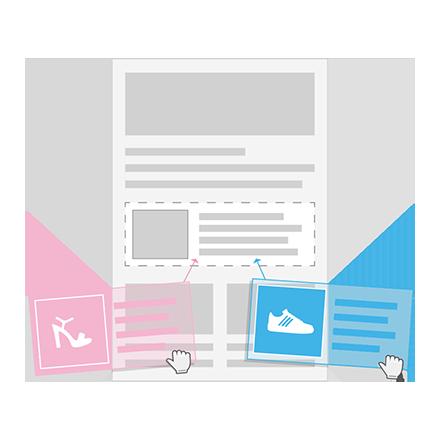 Personalized Newsletter Design Blocks